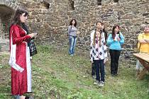 Prohlídka hradu Vlčtejn.