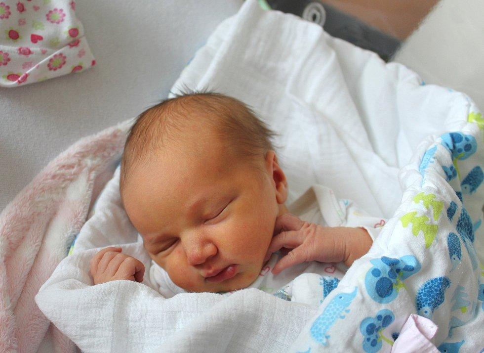 Alexandra Kupková zKlatov se narodila vklatovské porodnici 19. srpna v11:18 hodin (3310 g, 52 cm). Rodiče Sandra a Tomáš dopředu věděli, že se jim jako prvorozené miminko narodí holčička.