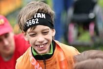 Tadeáš Tobiška se zúčastnil ipražského půlmaratonu. Je to velký sportovec.