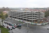 Výstavba parkovacího domu Rychtářka