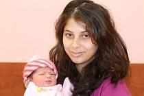 Jennifer (2,74 kg, 47 cm) přišla na svět 30. listopadu v 16:34 v plzeňské FN jako prvorozená dcera maminky Jessicy Šugárové a tatínka  Imricha Čermáka z Plzně