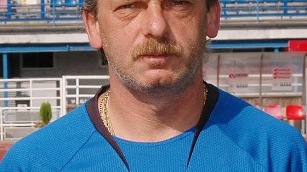 Trenér Viktorie Stanislav Levý