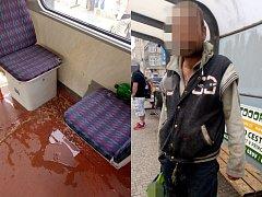 Zvratky v tramvaji měl na svědomí 41letý cizinec