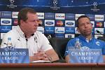 Pavel Vrba a kapitán Pavel Horváth