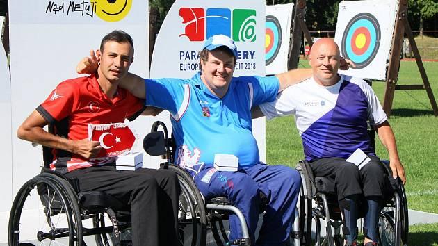 DAVID DRAHONÍNSKÝ potvrdil svoji formu před mistrovství Evropy vítězstvím v závodu Evropského poháru v Novém Městě nad Metují.