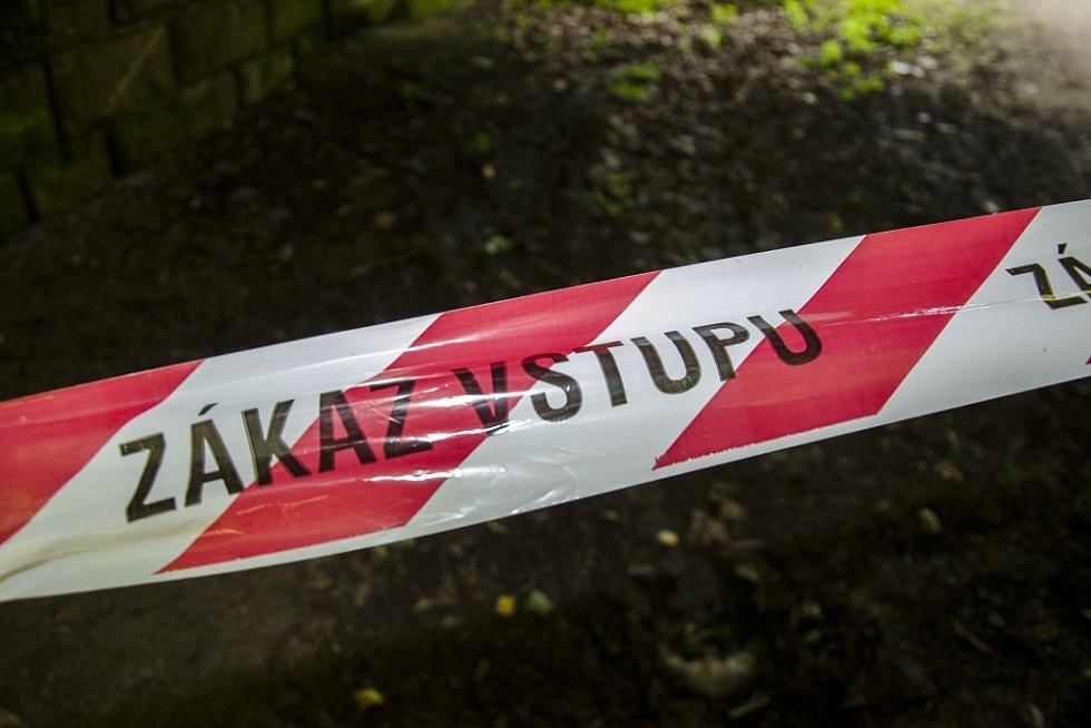 Místo kde se ukrýval Miloš Babyka