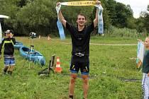Jan Brož, vítěz kvadriatlonu