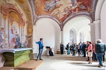 V Mariánské Týnici proběhla slavnostní prezentace dostavby východního ambitu.