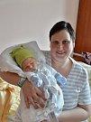 Václav Čáp se narodil 28. ledna v1:29 rodičům Jitce a Václavovi zKasejovic. Po příchodu na svět ve FN Plzeň vážil bráška dvouleté Elišky 3490 gramů a měřil 49 cm.