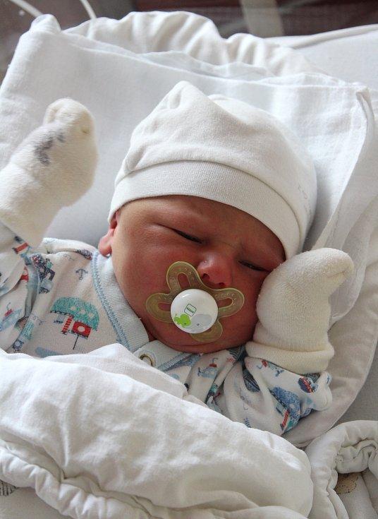 Jan Končelík z Krsov se narodil v plzeňské FN na Lochotíně 21. září ve 21:29 hodin. Rodiče Barbora a Josef věděli dopředu, že jejich prvorozeným miminkem bude chlapeček.