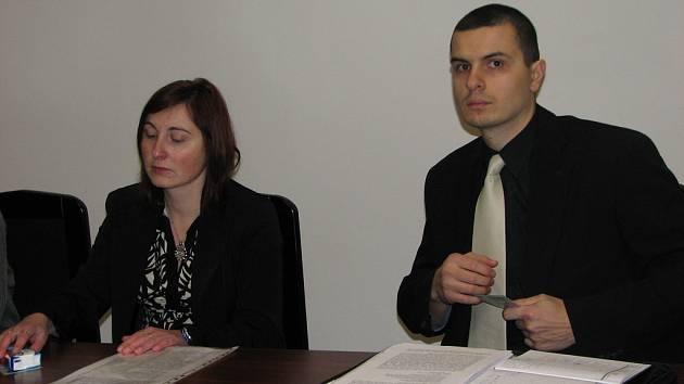 Renata Brabencová (nalevo) a Vladimír Topolčany.