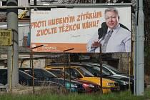 Billboard Milana Chovance je z podzimní kampaně