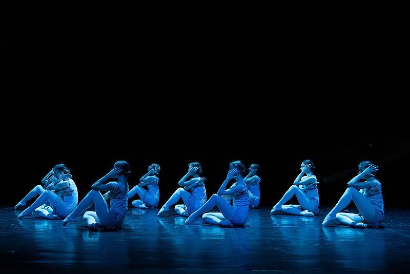 Z generální zkoušky baletu Anastázie - poslední dcera cara v Divadle J. K. Tyla v Plzni.