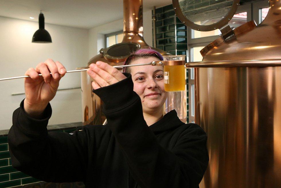 Otevření minipivovaru Zlatá kráva v Nepomuku
