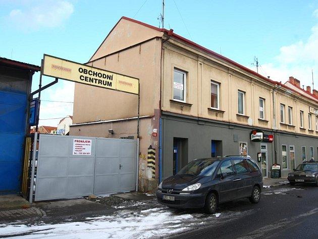 Podnikatelský areál v Poděbradově ulici