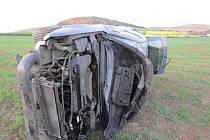 Nehoda u Lhovice.