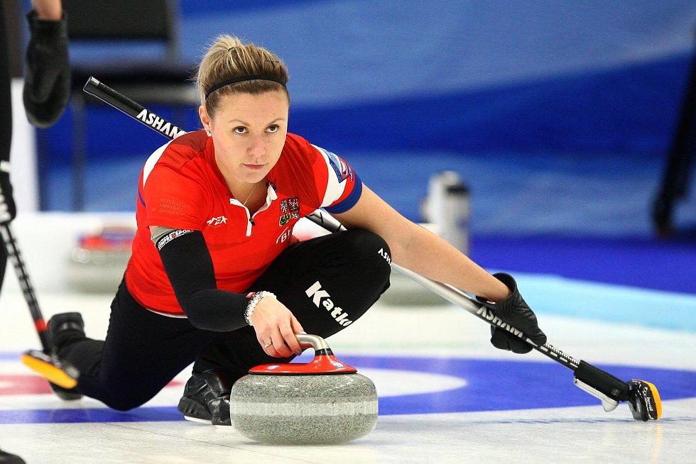 Kvalifikace v curlingu na OH 2018 - ČR  x Čína