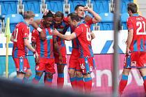 Fotbalisté Viktorie přetlačili Slovácko a mají cenné tři body