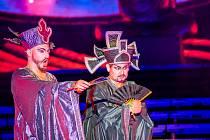 Na  slavnou Pucciniho operu Turandot se v pátek do lochotínského amfiteátru vypravilo více než 6000 diváků.