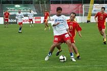 Finále turnaje fotbalových školních družstev Mc Donald´s Cup v Plzni pro žáky čtvrtých a pátých tříd