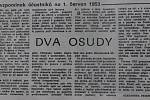 Článek Dva osudy, Nová Pravda, 4. června 1990