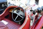 Historická auta veteráni vyjížďka Veteran Car Club