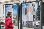 Plzeň, Smetanovy sady, venkovní výstava Svoboda nebyla zadarmo.