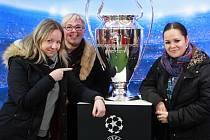 Pohár vítězů Ligy mistrů je v Plzni