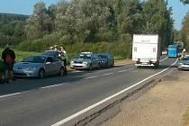 Ujíždějící Toyota Celica zastavila až u Rokycan