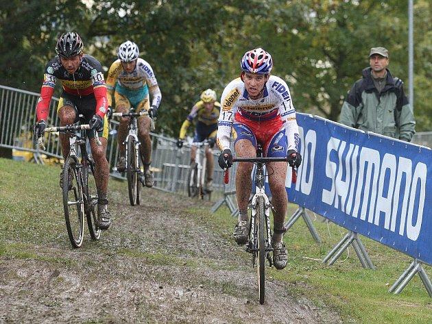 V Plzni na Doubravce pokračoval v neděli Světový pohár v cyklokrosu. Český reprezentant Zdeněk Štybar obsadil třetí místo za Belgičany Albertem a Nijsem.