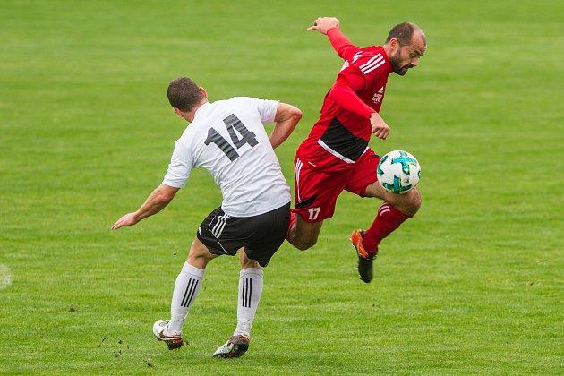 Fotbal 6. kolo divize - Petřín Plzeň - Soběslav.