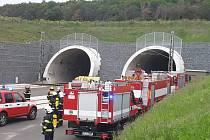 Falešný poplach v ejpovickém železničním tunelu
