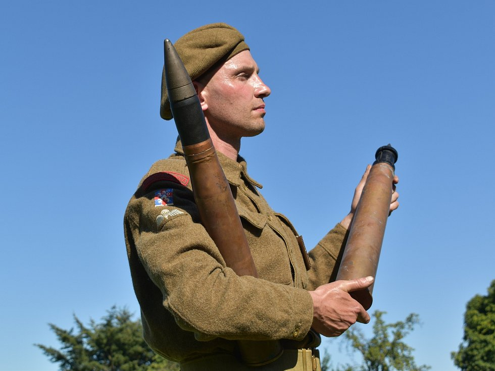 V Myslívě si připomněli návrat vojáků Československé obrněné brigády do vlasti a působení armády Spojených států amerických v západních Čechách.