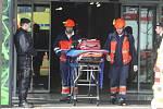 V plzeňském obchodním centru Plaza ve čtvrtek spadla stropní konstrukce v prostoru multikina
