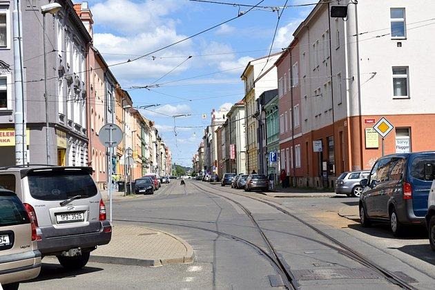Chystá se rekonstrukce Sladkovského ulice vPlzni.