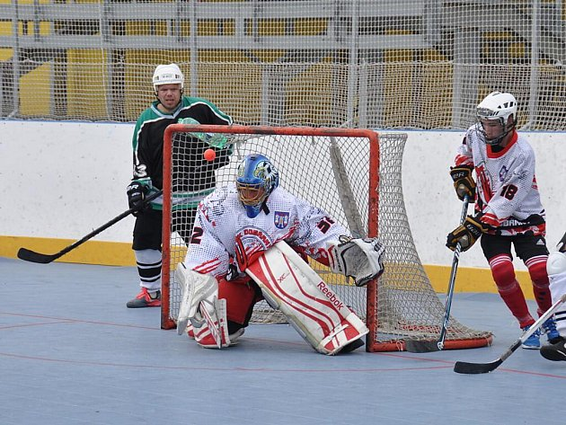 Semifinále HBC Fireball Plzeň proti TJ Snack Dobřany