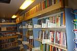 Pojízdná knihovna v podobě plzeňského bibliobusu
