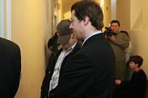 Michal Lohr před soudní síní