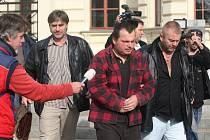 Okresní soud Plzeň-město vzal Jaroslava Hrdličku do vazby