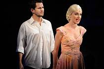 Evita v podání Soni Borkové a Che ztělesněný Romanem Říčařem se dočkali ovací v sobotní premiéře Evity, kterou nastudoval v plzeňském Divadle J. K. Tyla režisér Roman Meluzín