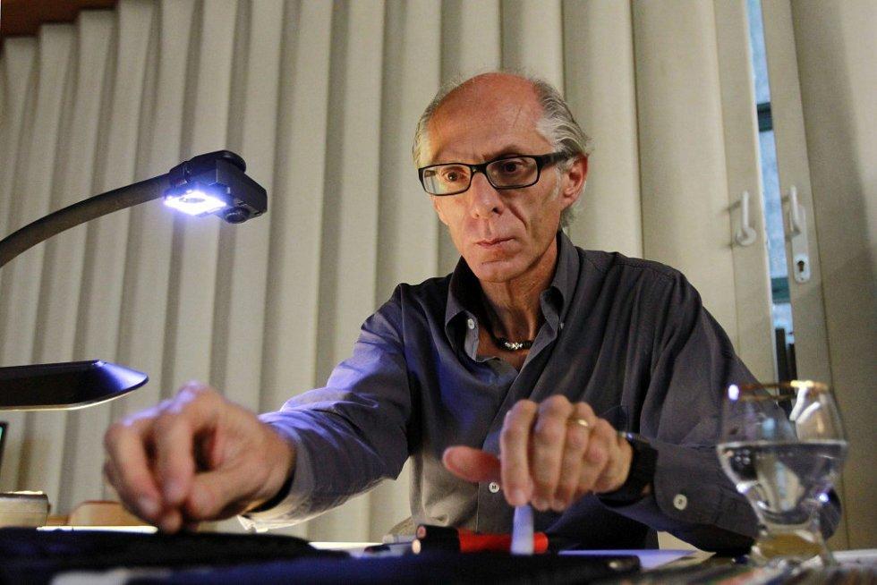 Designér Maurizio Corbi předvedl svůj talent v Plzni