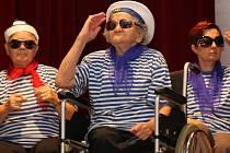 Také námořnické vystoupení Domova pro osoby se zdravotním postižením Horní Bříza roztleskalo celý sál