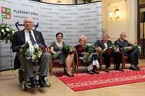 Dvorana slávy Plzeňského kraje přivítala dalších pět osobností. Jsou jimi Miroslav Štandera, Hana Gerzanicová, Jiří Valenta, Antonín Procházka a Kateřina Emmons