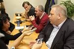 Krajské volby - štáb ČSSD v Plzni
