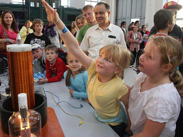 Vědecká show v Techmanii
