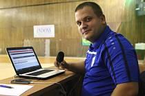 Marketingový ředitel SK Interobal Plzeň Michael Sinkule.