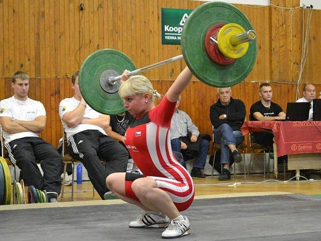 Eva Starcková (Start Plzeň) byla třetí mezi ženami