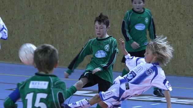 Turnaj Bama Cup: Příbram - Kladno (1:1).
