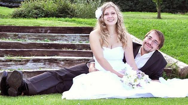 Na vletickém statku si v sobotu 11. září ve 14 hodin slíbili slavnostně věrnost na celý život Eliška Furišová a Ondřej Vašek.
