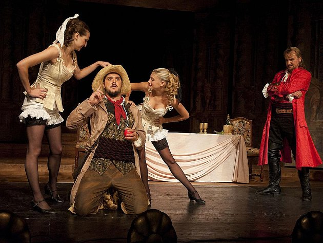Představení Don Giovanni.